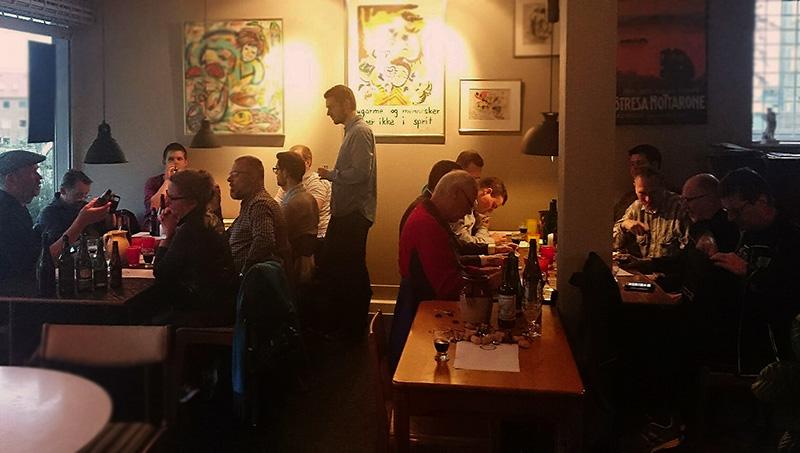 Smag På Øllet ølsmagning for Danske Ølentusiaster Aarhus C på Café Albert